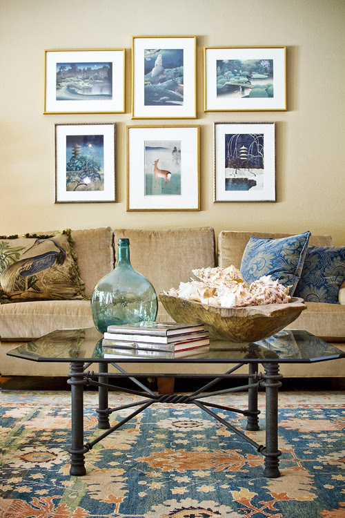 LINDENWOOD CIRCLE eclectic living room