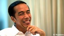 Indonesischer Präsident Joko Jokowi Wido   do