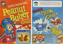 Peanut Butter Crunch cereal box