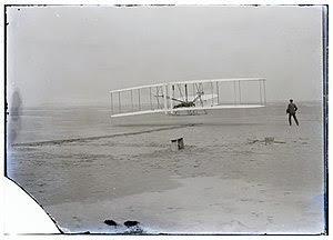 Vuelo de los hermanos Wright.