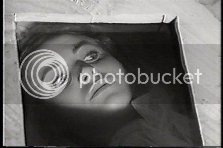 Brigitte observes her own funeral