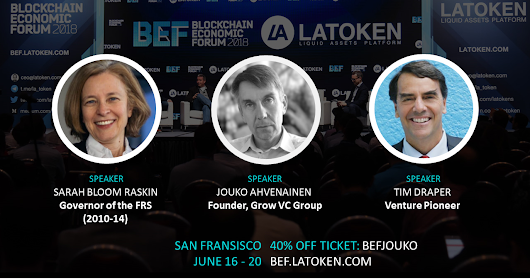 Grow VC Group at Blockchain Economic Forum in San Francisco