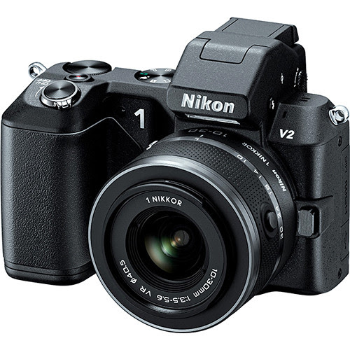 Nikon 1 V2 Mirrorless Digital Camera with 1 NIKKOR VR 10-30mm f/3.5-5.6 Lens Kit