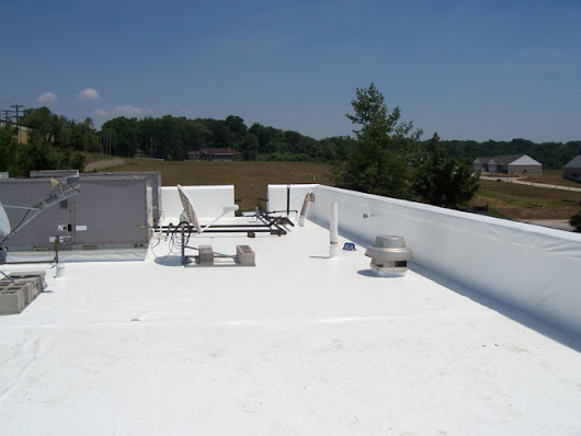 PVC Flat Roofing - Single Ply Flat Roofs