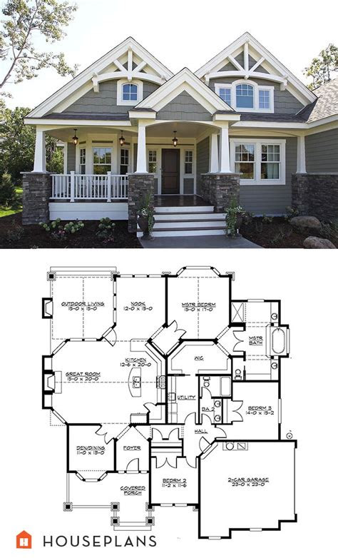 craftsman house plans ideas  pinterest