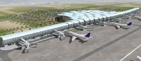 New Hurghada Airport Terminal Rendering