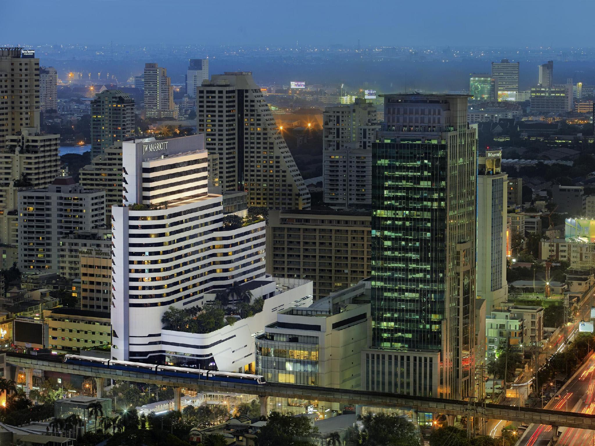 Jw Marriott Hotel Bangkok Sukhumvit Bangkok Thailand
