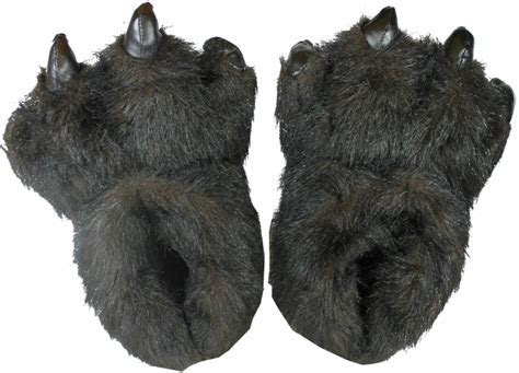 53320 Small Plush Panther House Shoes