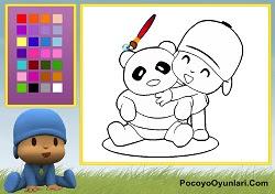 Pocoyo Ve Panda Boyama Oyunu Oyna Pocoyo Oyunları