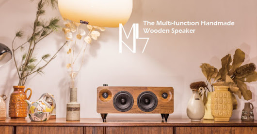 MIN7 : The Multi-function Handmade Wooden Speaker