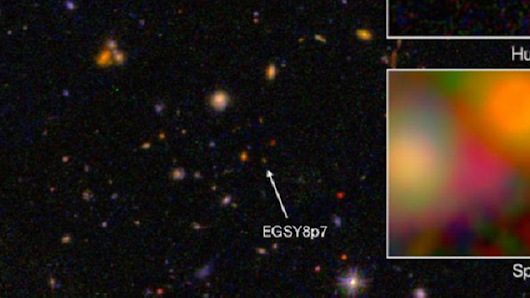 This is the Oldest Galaxy We've Found So Far