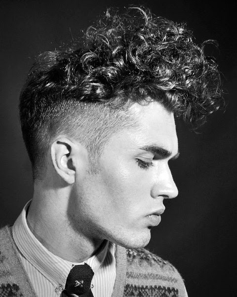 Beste Lockige Frisuren Für Männer 2018 Mannstil