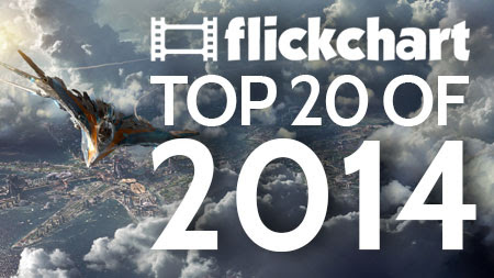20,000 Flickcharters Rank 20 Million Times To Decide The Top 20 Films of 2014