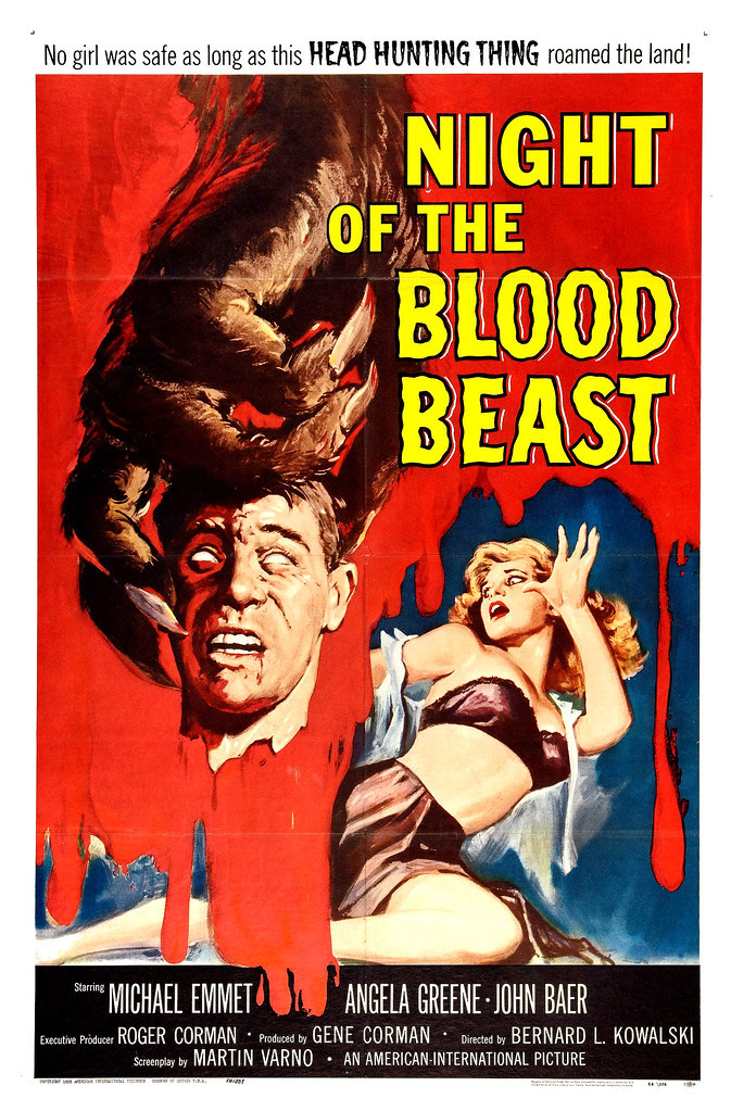 Albert Kallis - Night of the Blood Beast (American International, 1958) One Sheet