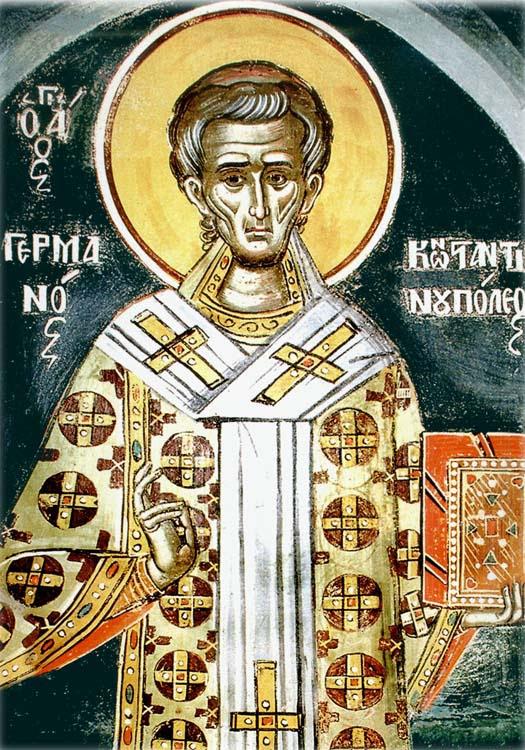 IMG ST. GERMANUS of Constantinople