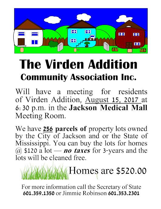 Virden Addition Neighborhood Community Meeting