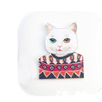 Set Of 2 Lacuni Eyekan Contact Lens Case Lenses Holder Box Travel Kit Case # freeshipping - GreatEagleInc