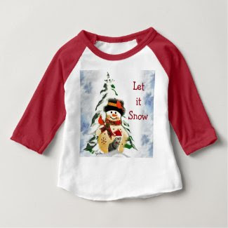 Toddler Let it Snow Christmas T-Shirt