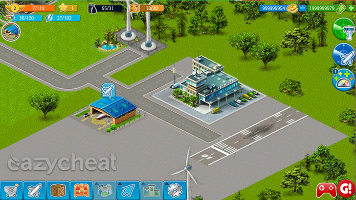 Airport City v4.5.5 Cheats
