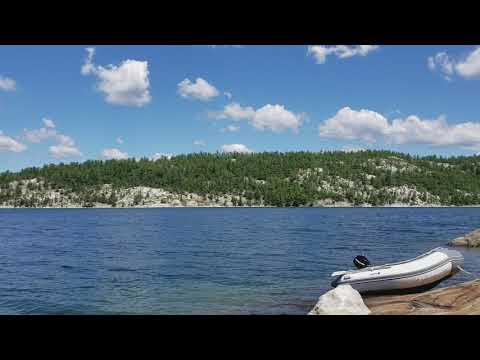 One more video from exploring Baie Fine