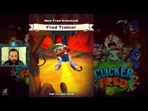 Clicker Fred (Android) Early Access - Epizoda 1  | EchogazeGaming