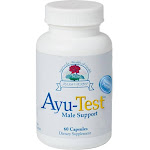 Ayu-Test Male Support (formerly Purush) 60 vcaps by Ayush Herbs