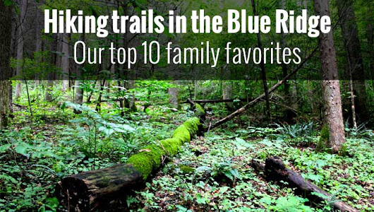 Hiking trails in the Blue Ridge - Our top 10 family favorites - Blue Ridge Mountain Life