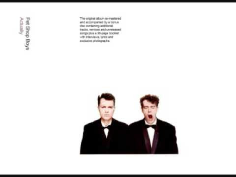 Pet Shop Boys - I Want To Wake Up (Breakdown mix)