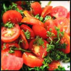 Tomato Parsley Salad