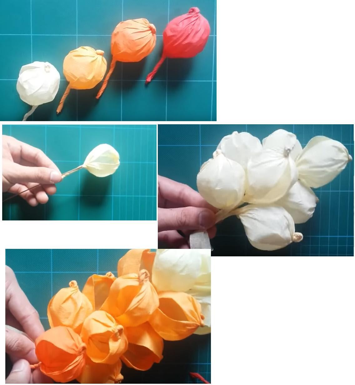 Flores De Papel Crepe Moldes Paso A Paso Vernajoyce Blogs