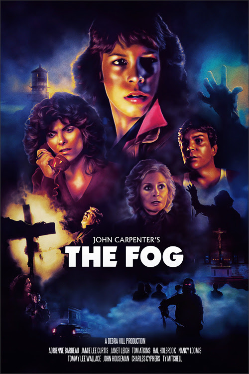 Lock your doors. Bolt your windows. Blogging about The Fog