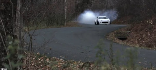 Better than a Ski Lift – Ryan Tuerck Drifts Up a Ski Mountain in His White Widebody FR-S | FRS BRZ Performance