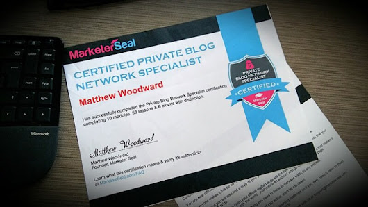 MarketerSeal SEO Certification Review - Private Blog Network Specialist Certification Course | JVZoo WSO Launch Review