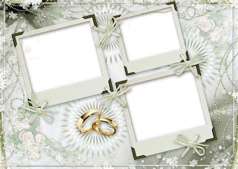 16 PSD 3D Frames Images   Wedding Frames PSD Free Download