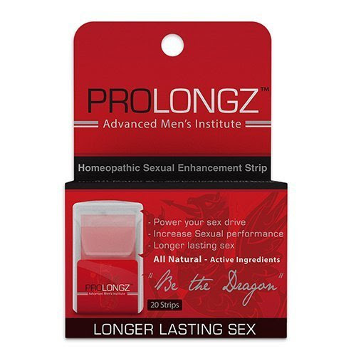 Prolongz Review - Natural Premature Ejaculation Treatment Strips