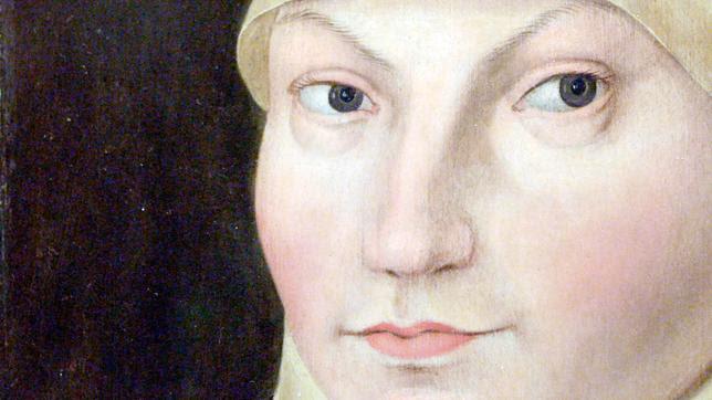 Katharina von Bora, Gemälde Lucas Cranach