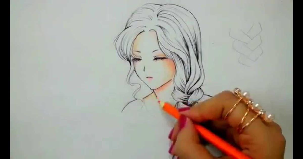 ملونة رسومات انمي سهلة Findo