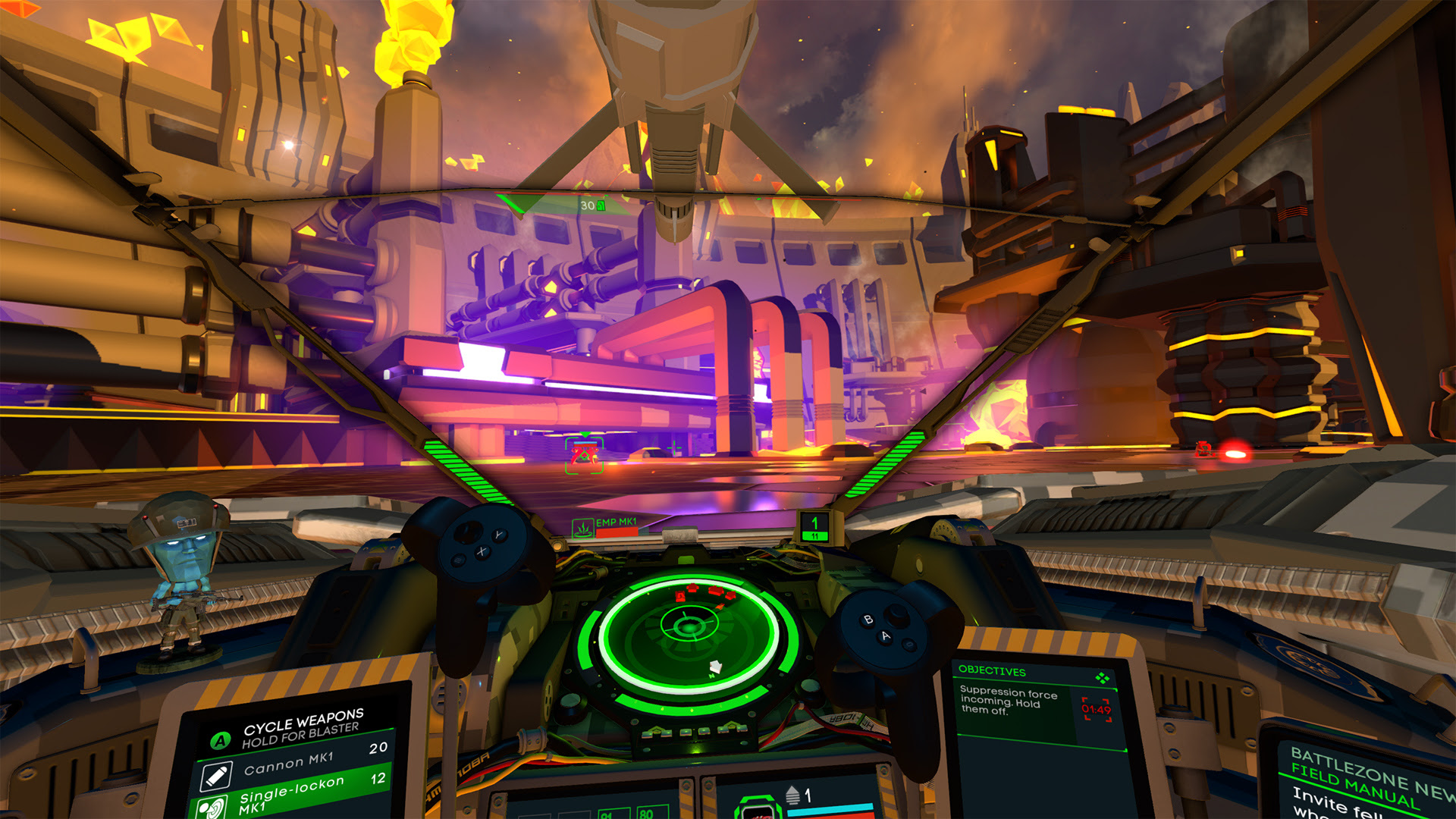 Battlezone is worth checking out on Vive and Oculus Rift screenshot