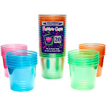 Party Essentials 4-Ounce Neon Bomber Cups, Assorted