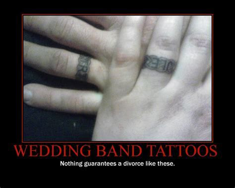 Wedding Band Tattoos   Picture   eBaum's World