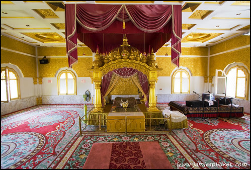 Prayer Room in the Sikh Temple, Phuket