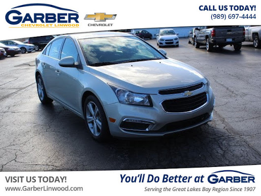 Certified Pre-Owned 2016 Chevrolet Cruze Limited LT FWD Sedan