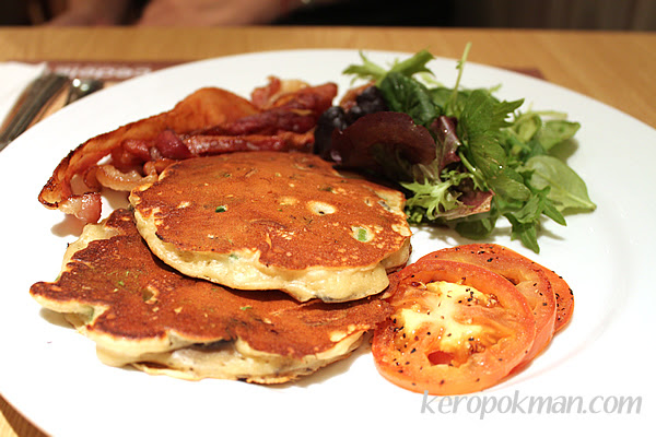 Wild Mixed Mushroom Whole-meal Pancakes