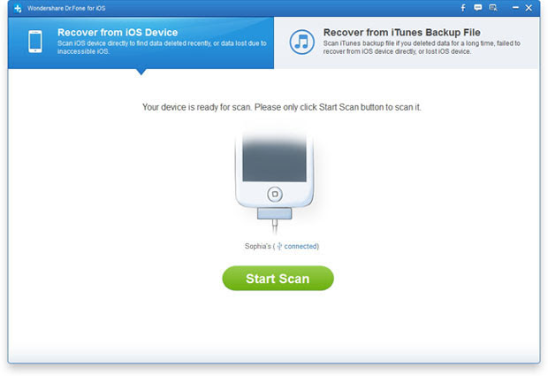 iPhone Data Recovery  Recover Data from iPhone, iPad, iPod \u0026 iTunes  User Guide