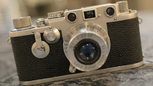 One hundred years of Leica cameras - BBC News