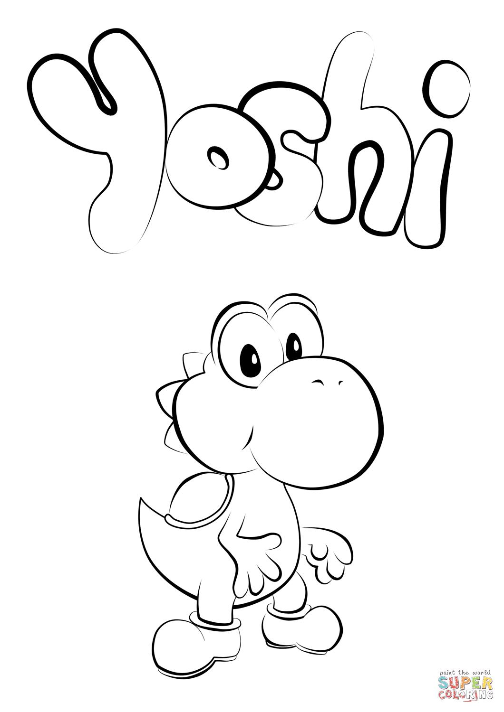 the Baby Yoshi
