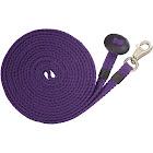 Tough-1 Flat Cotton Lunge Line, Purple