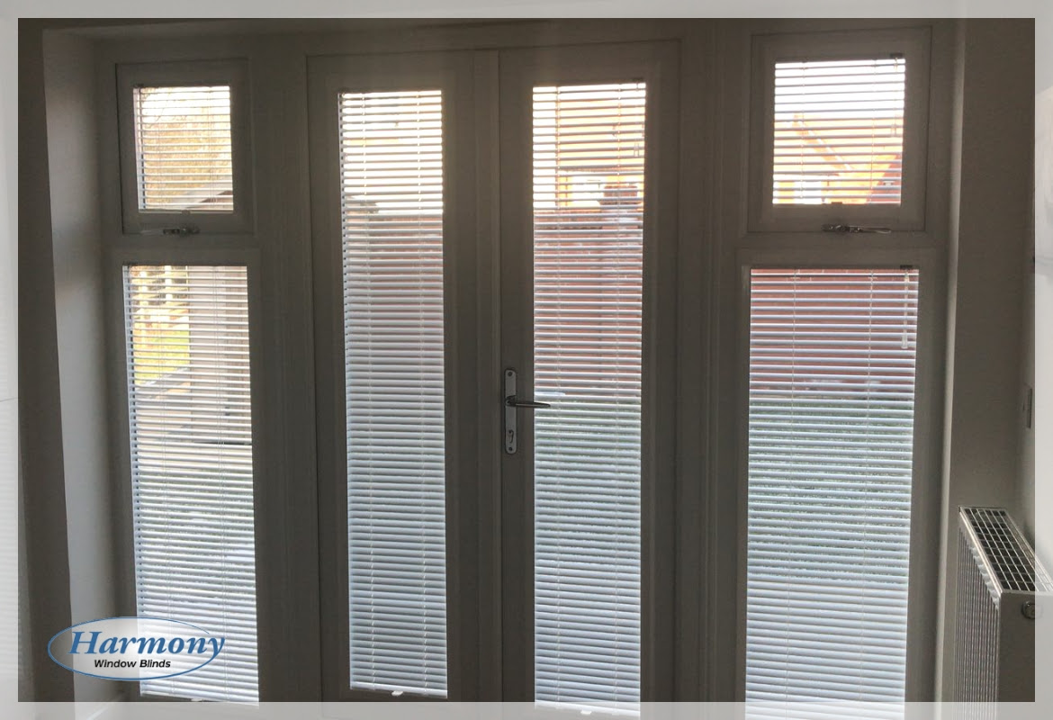 Perfect Fit Venetian Blinds On Doors And Side Panels Harmony