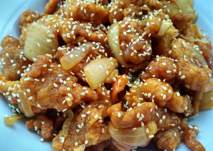 Resep Ayam korea 😋 Anti Gagal