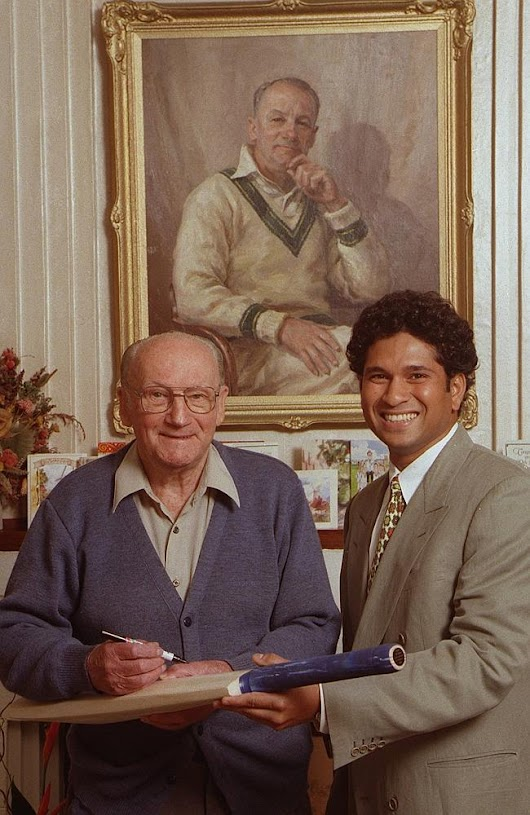 New Indian book claims Sachin Tendulkar was better than Don Bradman. Tell 'em they're dreamin'